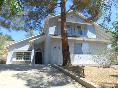 Acton Single Family Home Active Under Contract: 34440 Red Rover Mine Road