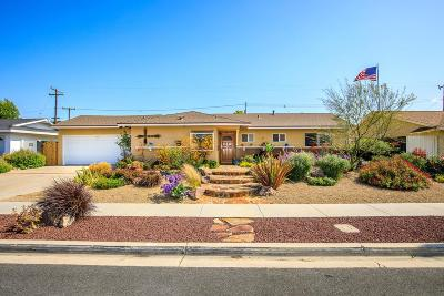 Newbury Park Single Family Home Active Under Contract: 3336 William Drive