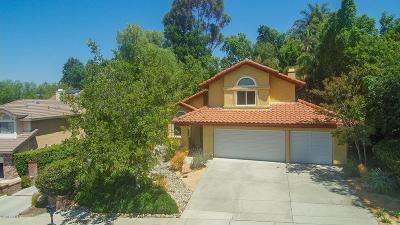 Thousand Oaks Single Family Home For Sale: 2139 Meadow Brook Court