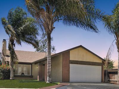 Moorpark Single Family Home Active Under Contract: 4339 Fairbrook Lane