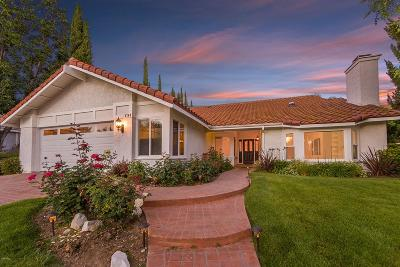 Agoura Hills Single Family Home Active Under Contract: 5748 Middle Crest Drive