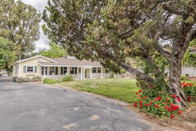 Sunland Single Family Home Active Under Contract: 9877 Wheatland Avenue