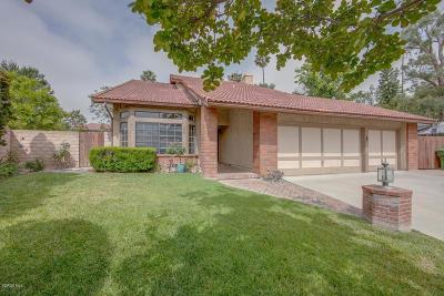 Moorpark Single Family Home For Sale: 883 Warren Court