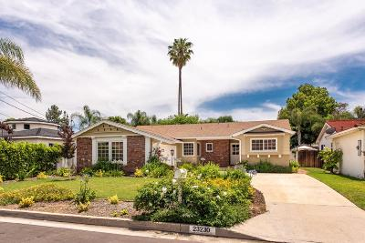 Woodland Hills Single Family Home For Sale: 23230 Mariano Street