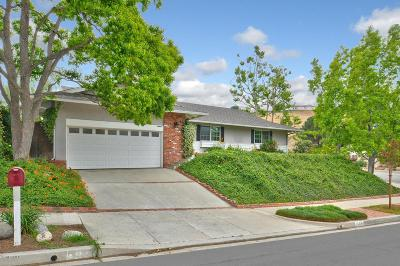 Thousand Oaks Single Family Home Active Under Contract: 1589 Calle Artigas