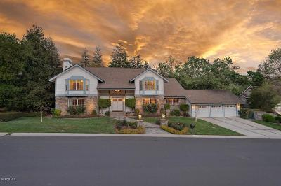 Westlake Village Single Family Home Sold: 1560 Upper Ranch Road