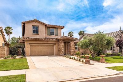 Camarillo Single Family Home For Sale: 3846 Hedge Lane