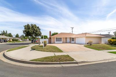 Camarillo Single Family Home Active Under Contract: 2266 Rocklyn Street