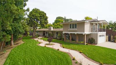 Thousand Oaks Single Family Home For Sale: 1350 El Monte Drive