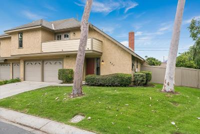 Camarillo Condo/Townhouse For Sale: 627 Deerhunter Lane