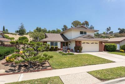 Newbury Park Single Family Home For Sale: 196 Maynard Avenue