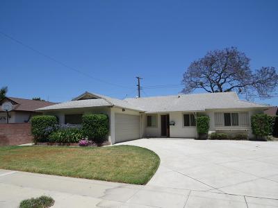 Camarillo Single Family Home For Sale: 1272 Eston Street