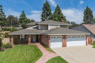 Camarillo Single Family Home For Sale: 2116 Vanguard Drive