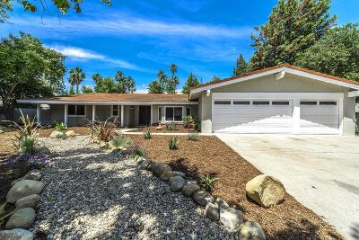 Chatsworth Single Family Home Active Under Contract: 19619 Los Alimos Street