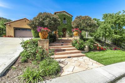 Westlake Village Single Family Home For Sale: 1660 Sycamore Canyon Drive