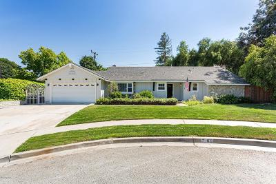 Simi Valley Single Family Home For Sale: 60 Marvin Court