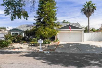 Thousand Oaks Single Family Home For Sale: 1479 Calle Durazno