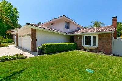 Agoura Hills Single Family Home For Sale: 28009 Via Amistosa