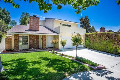 Thousand Oaks Single Family Home For Sale: 2100 Shady Brook Drive