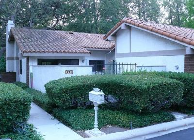Westlake Village Condo/Townhouse For Sale: 691 Arroyo Oaks Drive