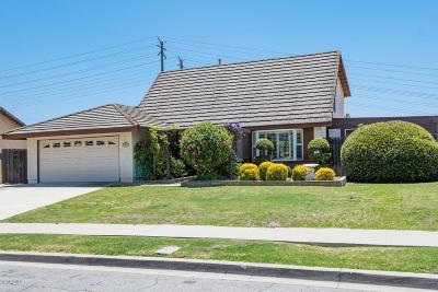 Thousand Oaks Single Family Home For Sale: 1344 Corte De Primavera