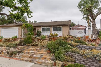 Newbury Park Single Family Home Active Under Contract: 4169 West Potrero Road
