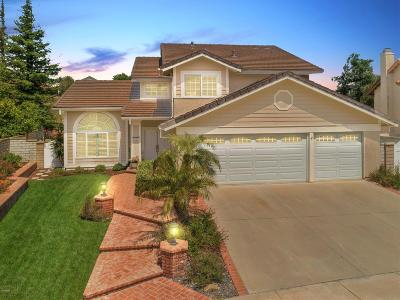 Simi Valley Single Family Home Active Under Contract: 747 Coldbrook Place