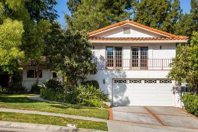 Agoura Hills Single Family Home Active Under Contract: 5528 Modena Place