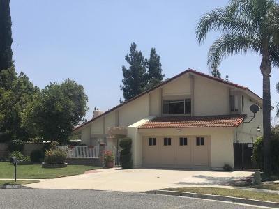 Simi Valley Single Family Home For Sale: 3568 Reburta Lane