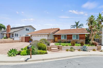 Thousand Oaks Single Family Home For Sale: 2184 Rusticpark Court