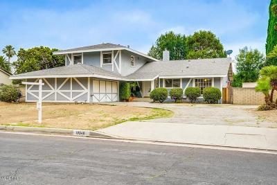 Northridge Single Family Home For Sale: 19548 Los Alimos Street