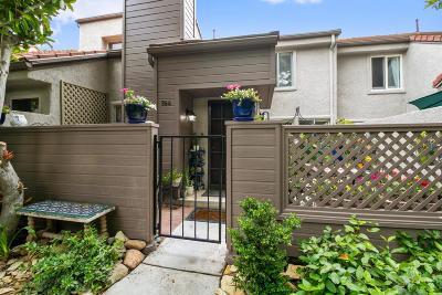 Westlake Village Condo/Townhouse For Sale: 364 Via Colinas
