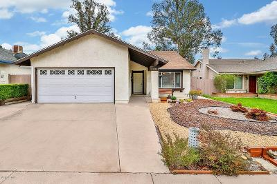 Moorpark Single Family Home Active Under Contract: 13368 East Quail Summit Road