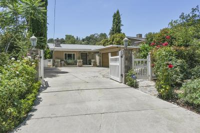 Agoura Hills Single Family Home For Sale: 5725 Colodny Drive