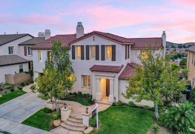 Simi Valley Single Family Home Active Under Contract: 3363 Soft Whisper Court