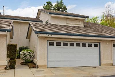 Simi Valley Condo/Townhouse For Sale: 2419 Manet Lane