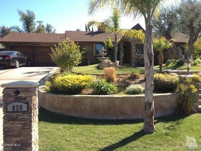 Thousand Oaks Single Family Home For Sale: 828 Old Farm Road
