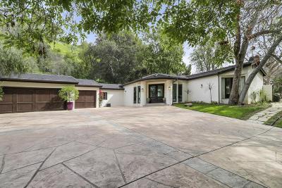 Tarzana Single Family Home For Sale: 4816 Topeka Drive