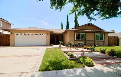 Simi Valley Single Family Home For Sale: 2134 Hurles Avenue