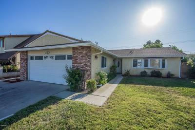 Simi Valley Single Family Home For Sale: 1593 Earl Avenue