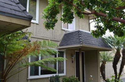 Oxnard Single Family Home Active Under Contract: 3751 Ketch Avenue #D