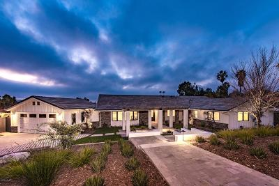 Thousand Oaks Single Family Home For Sale: 1329 Camino Cristobal