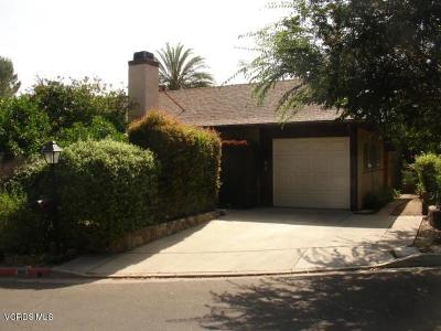 Ojai Single Family Home For Sale: 99 Taormina Lane