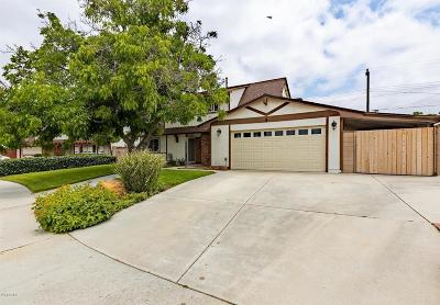 Simi Valley Single Family Home For Sale: 1144 Treadwell Avenue