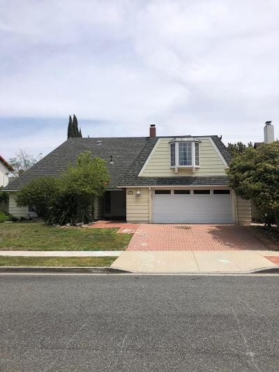Newbury Park Single Family Home Active Under Contract: 32 Karen Place