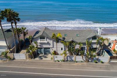 Ventura Single Family Home For Sale: 3398 Pacific Coast Highway