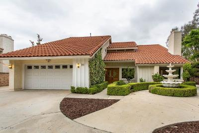 Simi Valley CA Single Family Home For Sale: $979,900