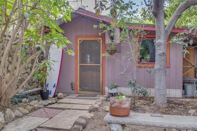 Ojai Single Family Home For Sale: 426 El Conejo Drive