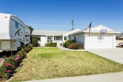Simi Valley Single Family Home For Sale: 2292 Wisteria Street