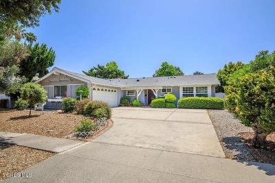 Newbury Park Single Family Home For Sale: 120 Fallbrook Avenue